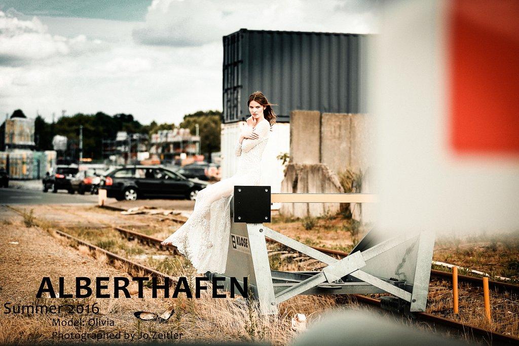 Fotoshooting im Alberthafen